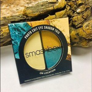 "SmashBox Photo Edit eyeshadow trio ""ON LOCATION"""